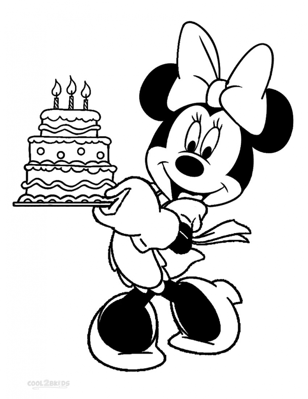 Mickey Mouse Coloring Pages