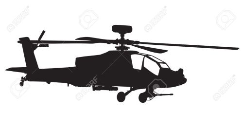 small resolution of 1300x707 vector silhouette of ah 64 apache longbow helicopter stock photo