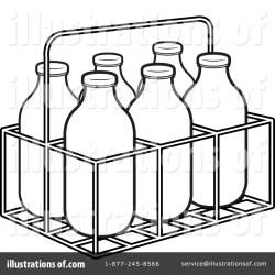milk bottle clipart water illustration outline jug lal perera royalty clipartmag rf sample