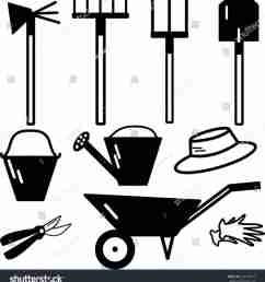1140x1264 farmer milk can stock vector shutterstock stock garden tools clip [ 1140 x 1264 Pixel ]