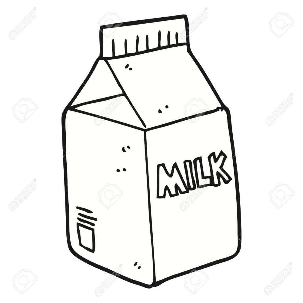 medium resolution of 1300x1300 freehand drawn cartoon milk carton royalty free cliparts vectors