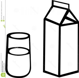 milk carton clipart clip chocolate open clipartmag