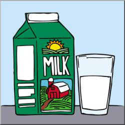 milk clip clipart abcteach clipartmag