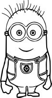 Minion Coloring Pages   Free download on ClipArtMag