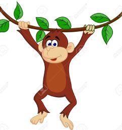 1300x1215 monkey banana clip art image [ 1300 x 1215 Pixel ]