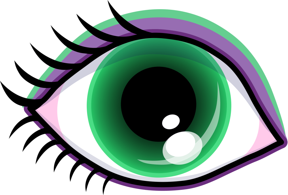 medium resolution of 3500x2379 eyes eye clip art black and white free clipart images 7