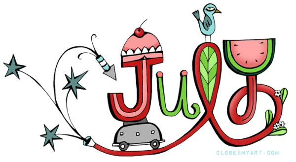 month of august clipart free