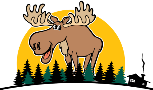 small resolution of 1600x946 moose clipart moose tracks