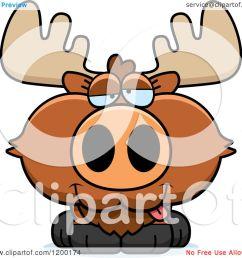 1080x1024 moose clipart drunk [ 1080 x 1024 Pixel ]