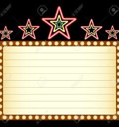 1300x1300 movie clipart blank movie marquee [ 1300 x 1300 Pixel ]