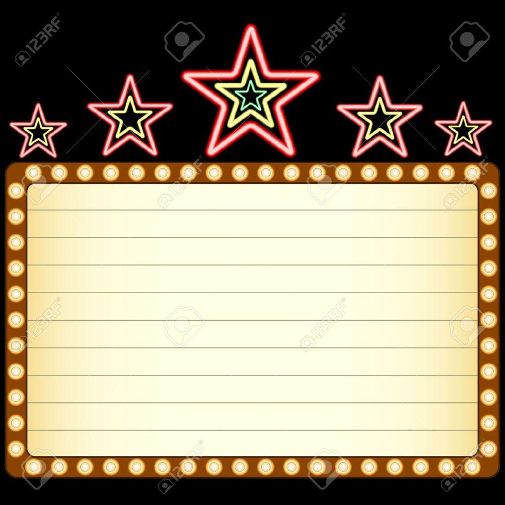 medium resolution of 1300x1300 movie clipart blank movie marquee