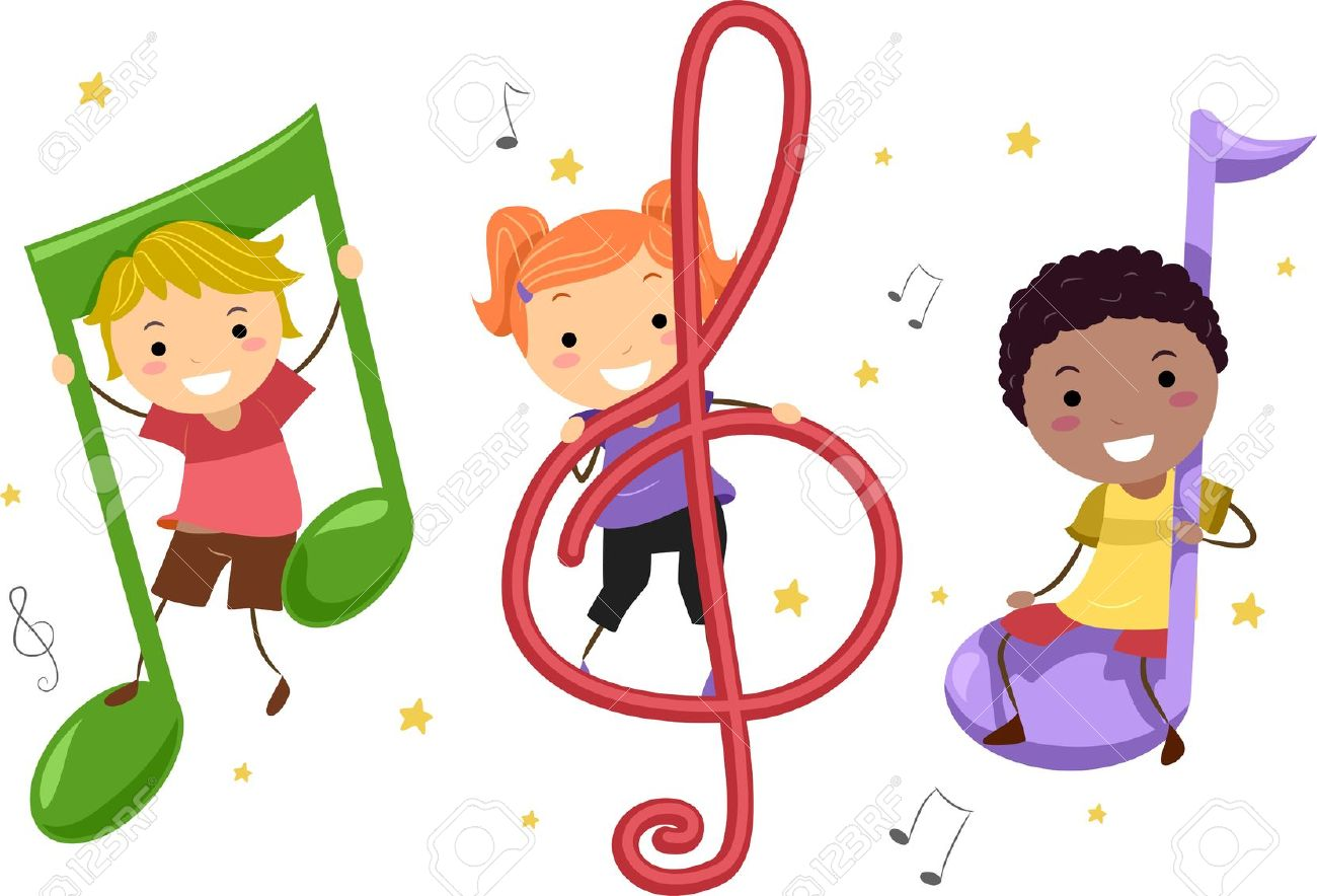 hight resolution of 1300x884 music notes clipart childrens