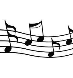 2184x843 chic design musical clipart music notes clip art free note image 1 [ 2184 x 843 Pixel ]