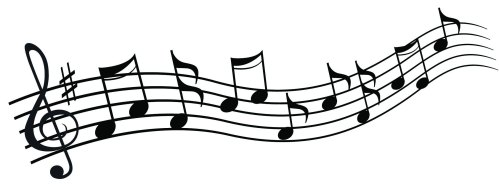small resolution of 2184x843 chic design musical clipart music notes clip art free note image 1