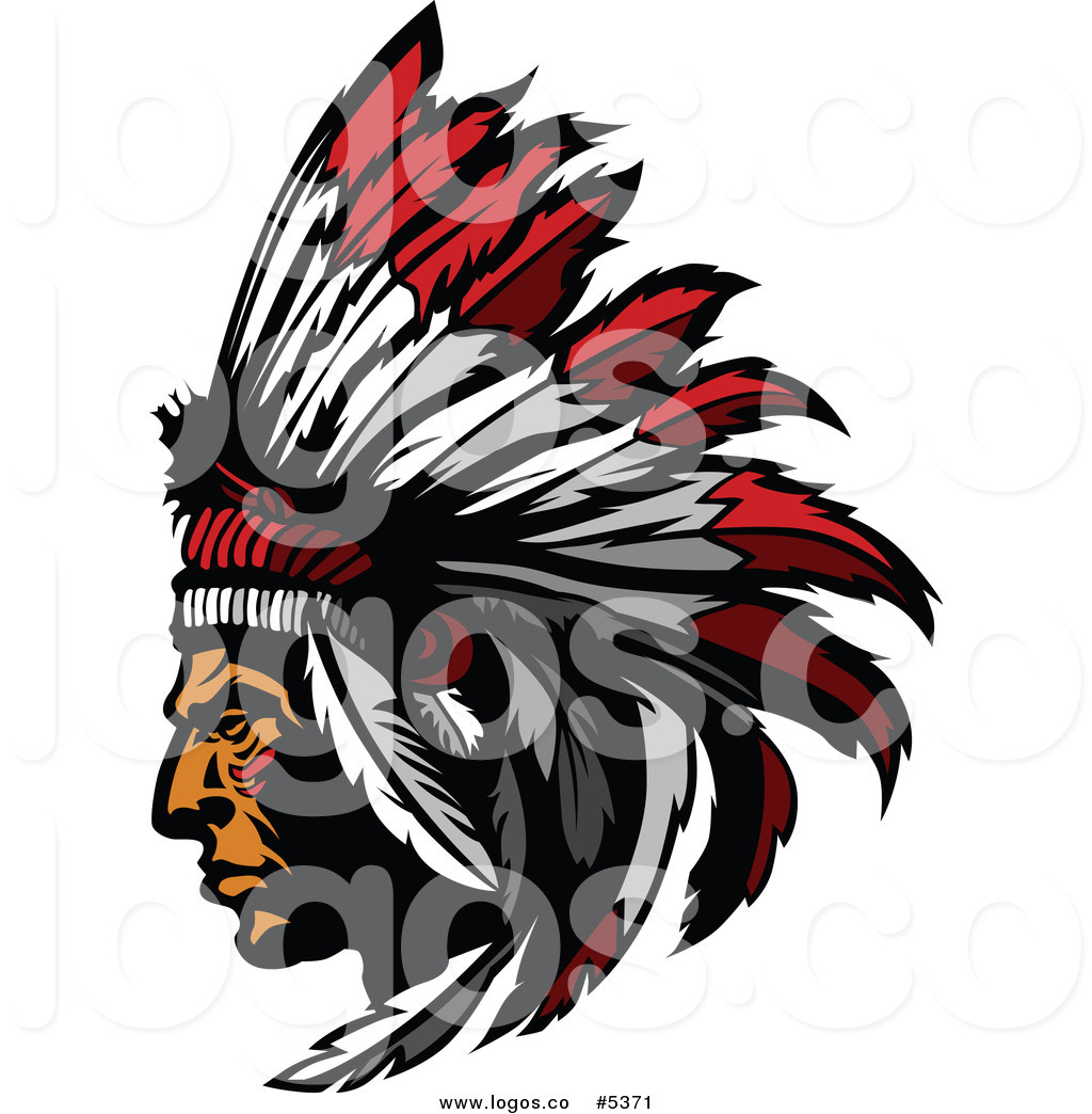 Native American Clipart Black And White