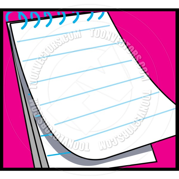 Notepad Clipart Free