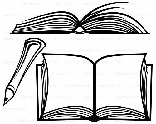 small resolution of 1500x1200 open book svg book clipart book svg open book silhouette book