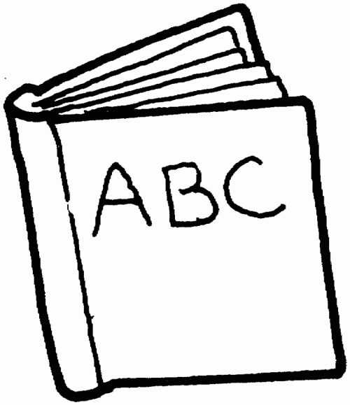 small resolution of 884x1024 reading book clipart black and white