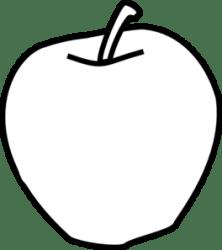 orange clipart clip apple clipartmag