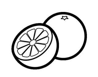 orange clipart slice clipartmag