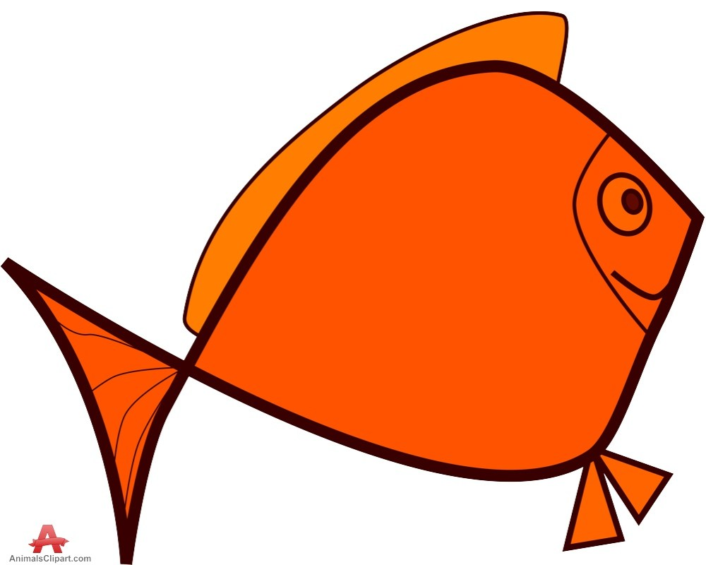 medium resolution of 999x800 cartoon orange fish free clipart design download