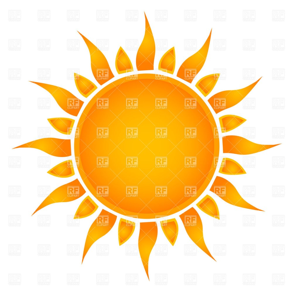 medium resolution of 1200x1200 simple sun royalty free vector clip art image