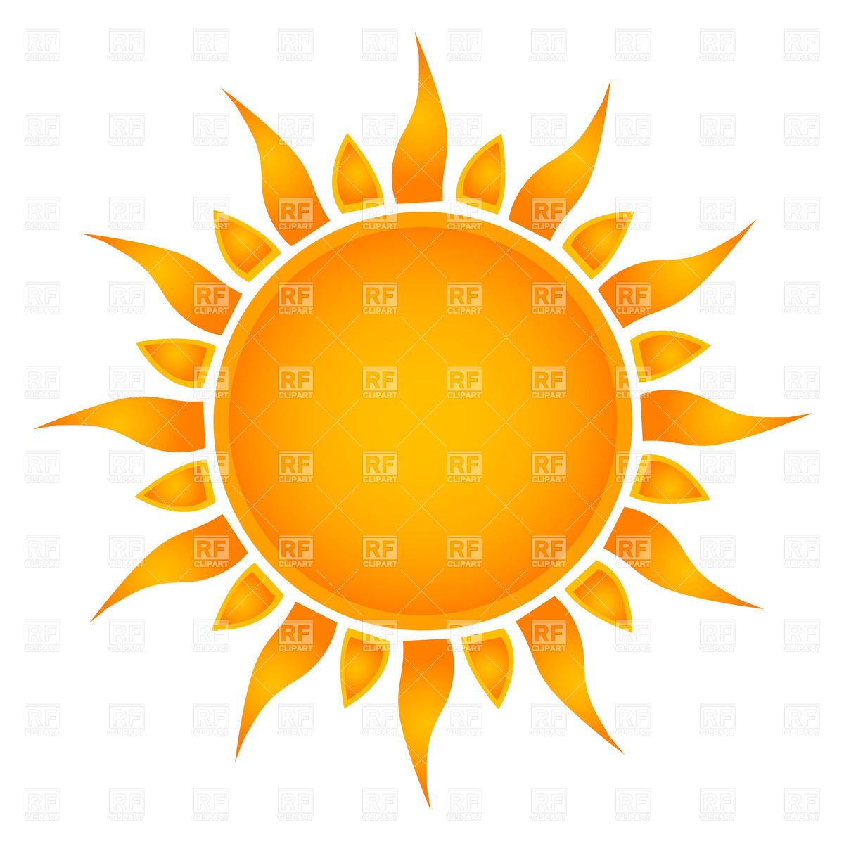 hight resolution of 1200x1200 simple sun royalty free vector clip art image