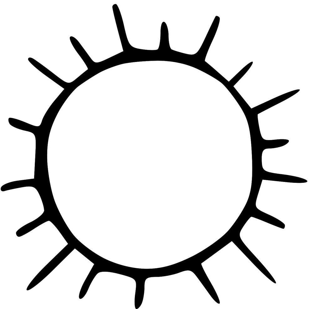 medium resolution of 1404x1386 sun clipart blank