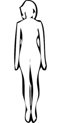 outline woman drawing figure clipart silhouette female lady transparent clip frau linie line kunst bereich face