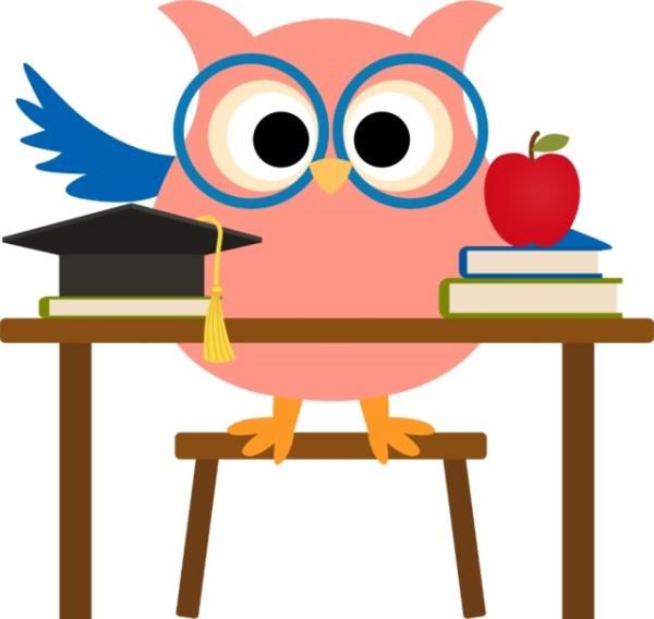 owl school clipart free