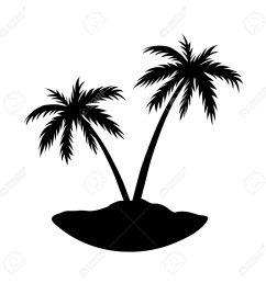 1300x1300 black clipart coconut tree [ 1300 x 1300 Pixel ]