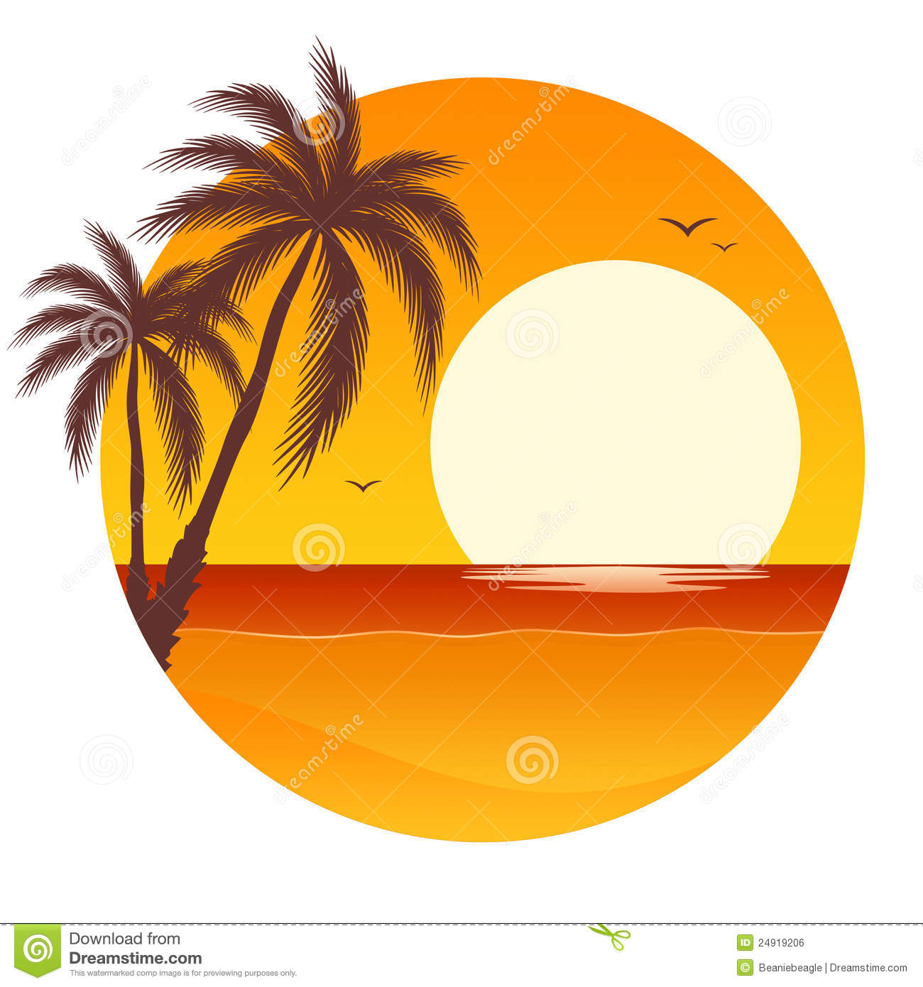 hight resolution of 1300x1390 orange clipart palm tree