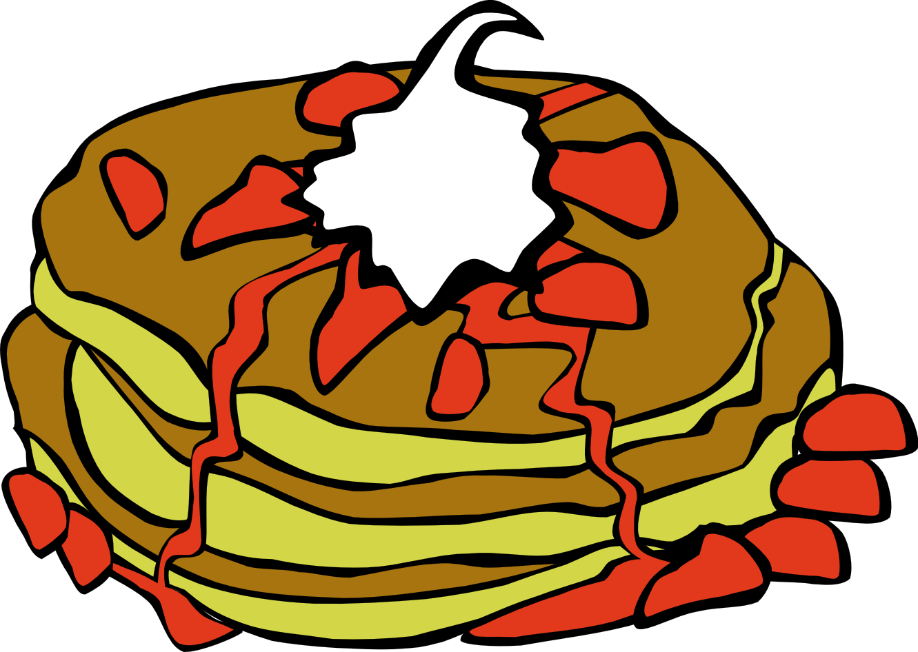 hight resolution of 1331x946 breakfast clipart 0 crepes for breakfast clip art free image