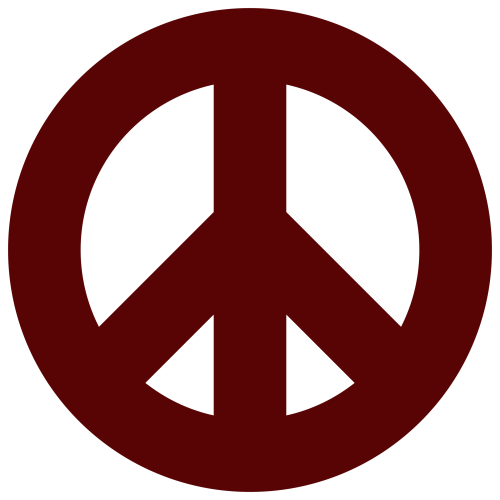 small resolution of 2400x2400 blue peace sign clip art