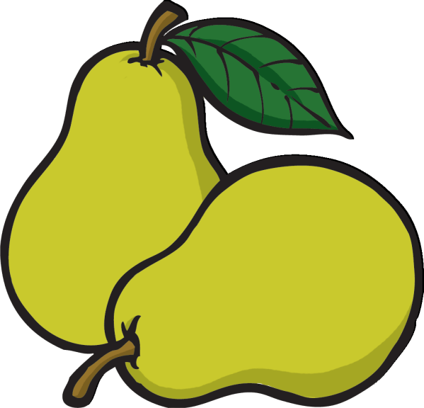 Pear Cartoon Clip Art