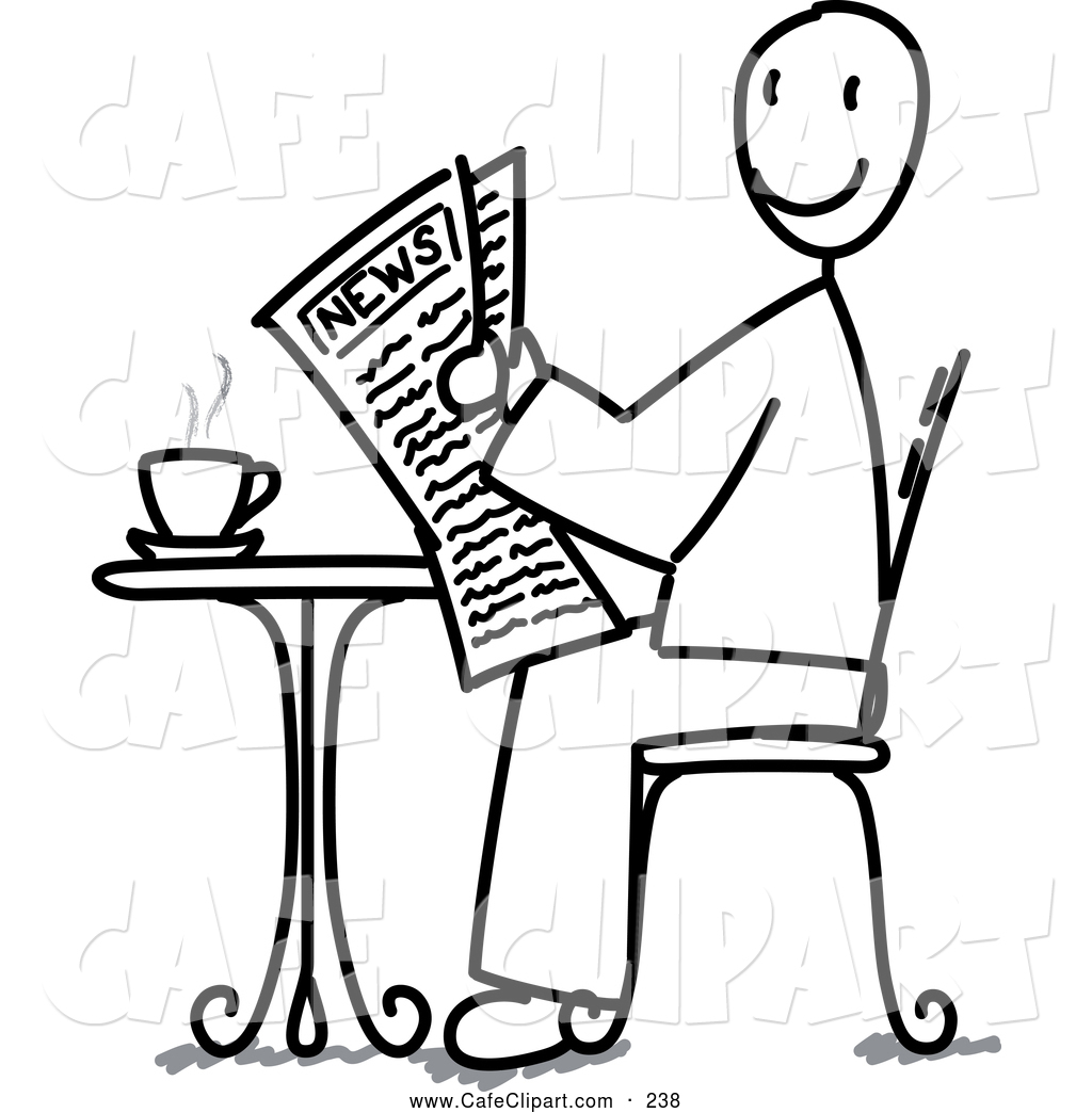 People Sitting Clipart