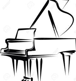 1167x1300 sketch clipart piano [ 1167 x 1300 Pixel ]
