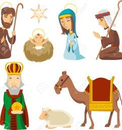 1300x1243 nativity scene clip art [ 1300 x 1243 Pixel ]