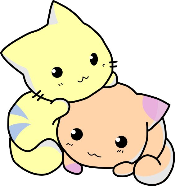 picture of cartoon cats