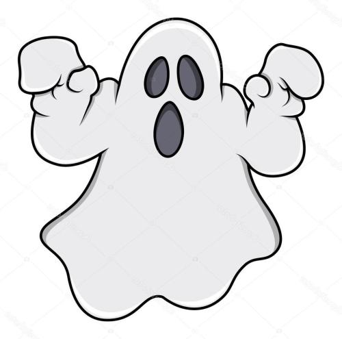 small resolution of 1024x1014 best 15 stock illustration ghost trying to scare halloween image