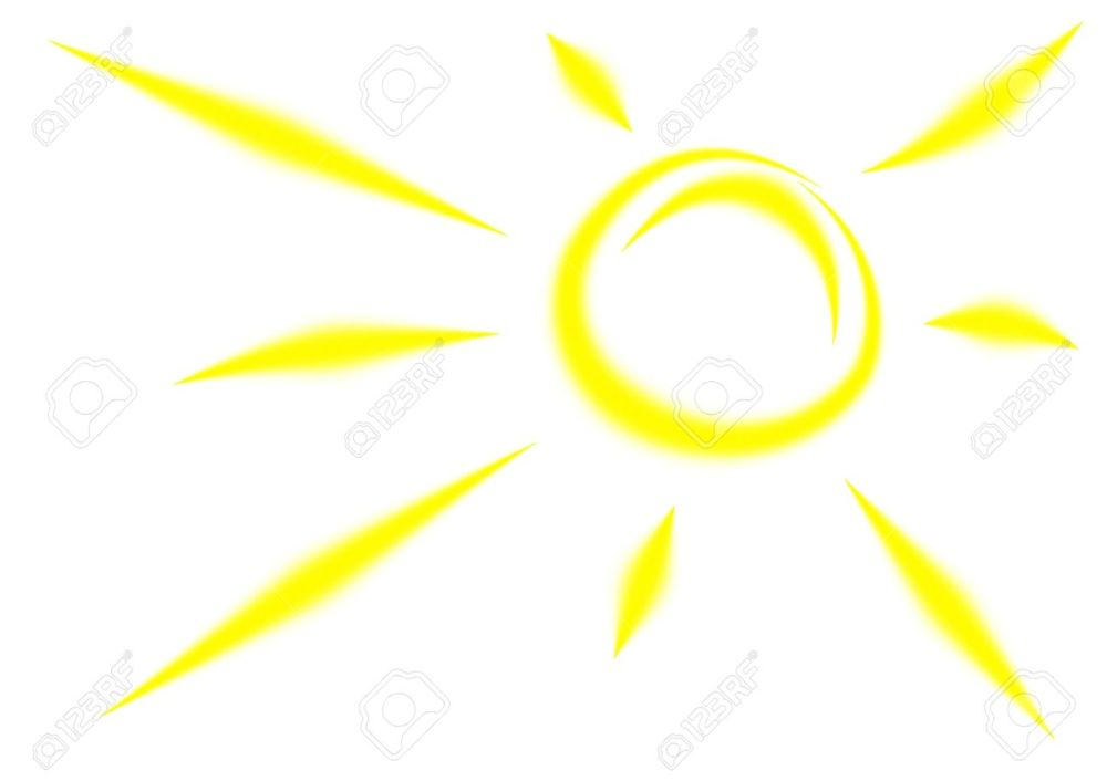 medium resolution of 1300x919 bright clipart yellow sun