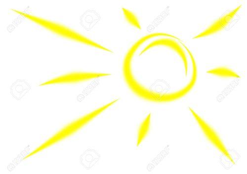 small resolution of 1300x919 bright clipart yellow sun