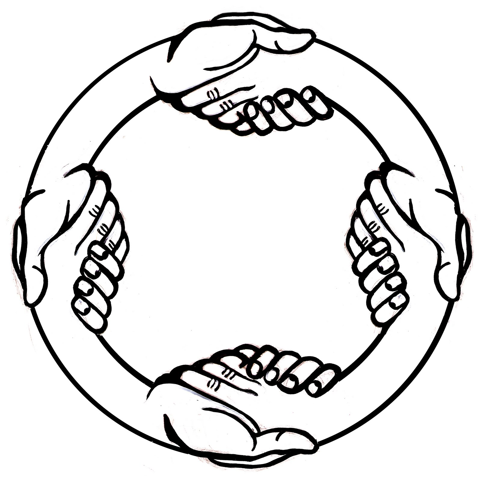 Picture Of Two Hands Shaking