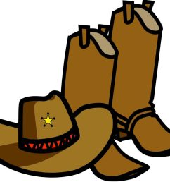 1024x854 best free cowboy boots clipart black and whitewboy clip art image [ 1024 x 854 Pixel ]