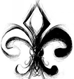 1600x1952 beautiful fleur de lis tattoos [ 1600 x 1952 Pixel ]