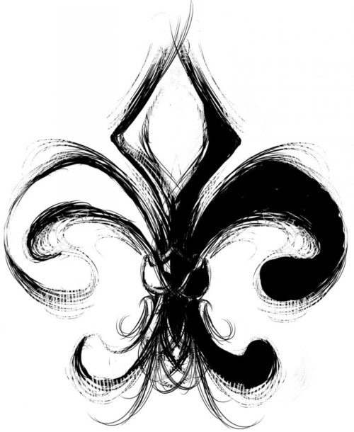 small resolution of 1600x1952 beautiful fleur de lis tattoos
