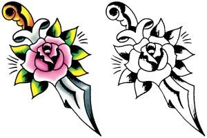 simple designs flower tattoo tattoos easy drawing getdrawings clipartmag