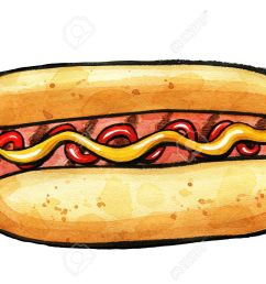 1300x920 hot dog clipart grilled food [ 1300 x 920 Pixel ]