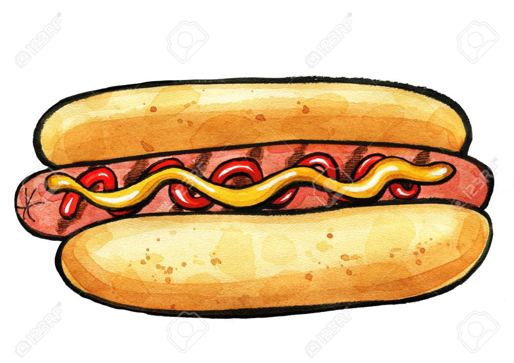 medium resolution of 1300x920 hot dog clipart grilled food