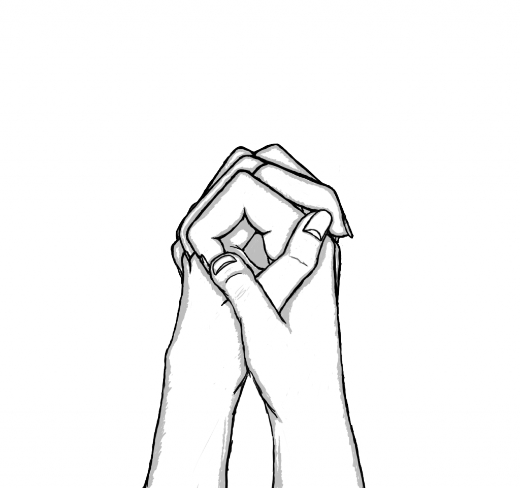 Couple Holding Hands Drawing Easy How To Draw People 25 Different